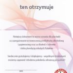 Alkohol i papierosy - certyfikaty dla szkół i placówek oświatowych