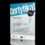 Certyfikat dla koordynatorów - Przemoc boli! 2016/2017