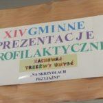 Gminne Prezentacje Profilaktyczne ZTU!  Ciasna, woj. śląskie