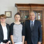 Laureaci ZTU na spotkaniu z Burmistrzem! Bytów, woj. pomorskie